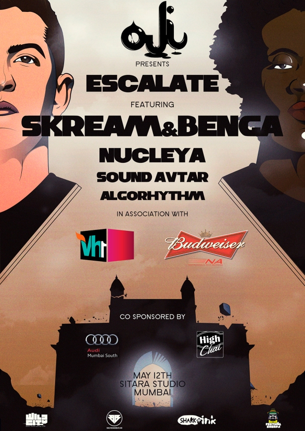 Escalate - Skream & Benga Live