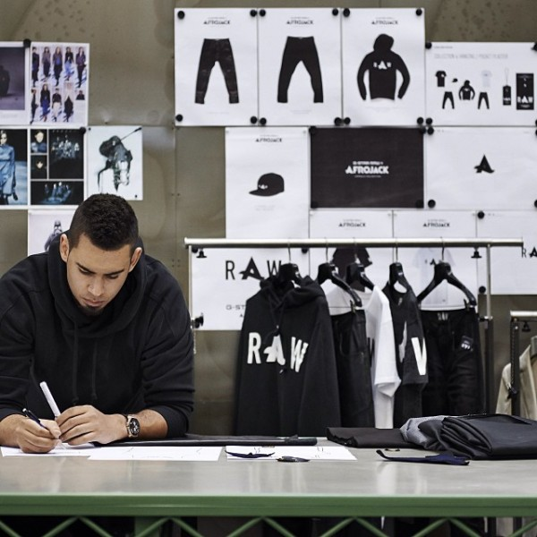 G-Star Raw and Afrojack to release exclusive apparel collection!
