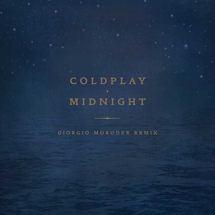 "Coldplay announce Giorgio Moroder remix of ""Midnight""!"