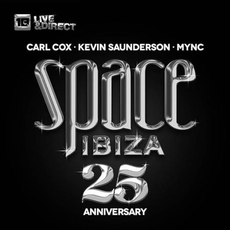 Space Ibiza and CR2 Records release 25th anniversary album featuring Carl Cox and friends!
