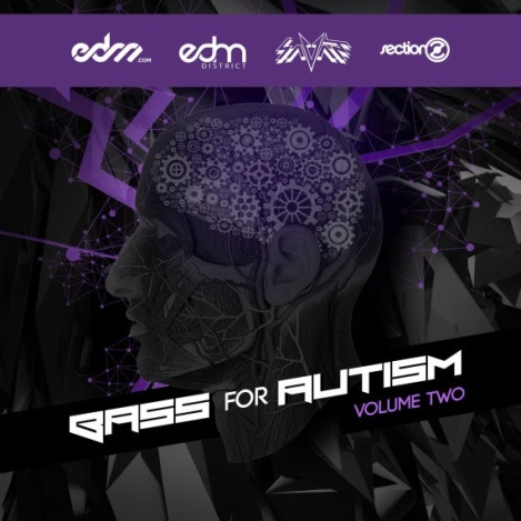 EDM Compilation To Benefit Autism Research, titled Bass For Autism Vol. 2!