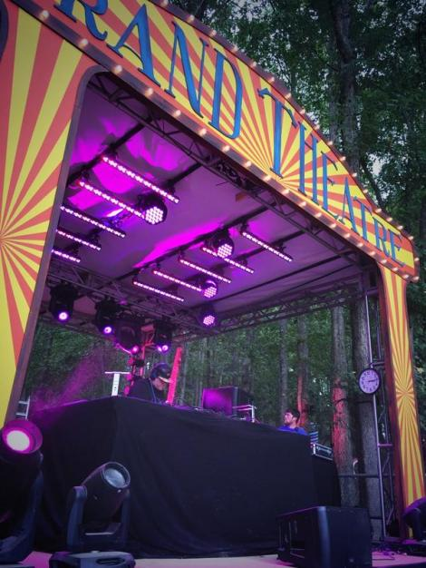 Beckwith at The Anjunadeep stage