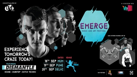 Gig Alert: Dismantle 3 City India Tour Emerge