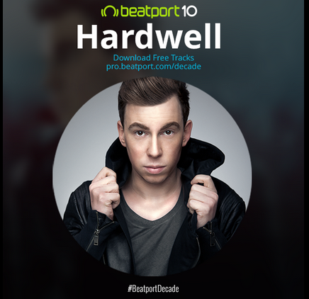 Beatport is Celebrating a Decade of Music With Hardwell Freebies