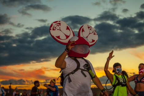 TomorrowWorld themed Deadmau5 Head