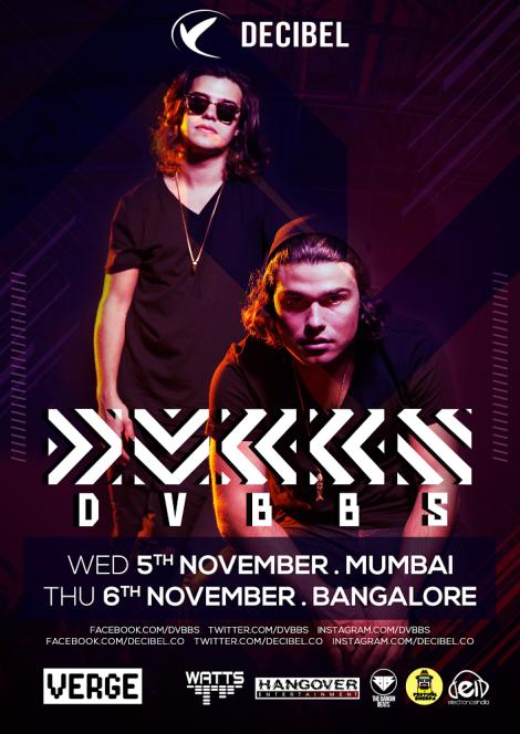 DVBBS tour flyer