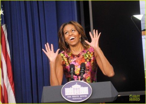 Michelle Obama Turns Down For What!